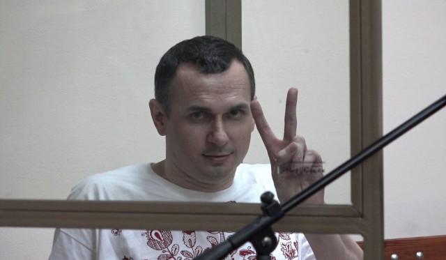 """Dokumentalny film """"Proces. Federacja rosyjska kontra Oleg Sencow"""" nie był pokazywany w Polskich. Teraz można go bezpłatnie obejrzeć w serwisie Play Kraków"""