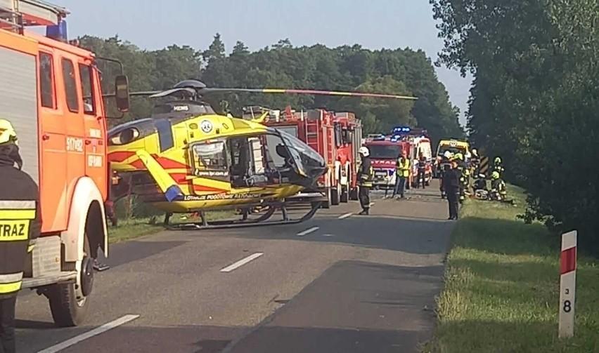 W sobotę rano we wsi Wygoda w gminie Gidle doszło do wypadku...