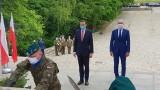 Premier Mateusz Morawiecki na Górze św. Anny obiecał remont Pomnika Czynu Powstańczego