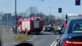 Lisi Ogon pod Bydgoszczą: zderzyły się 3 samochody. Roczne dziecko trafiło do szpitala