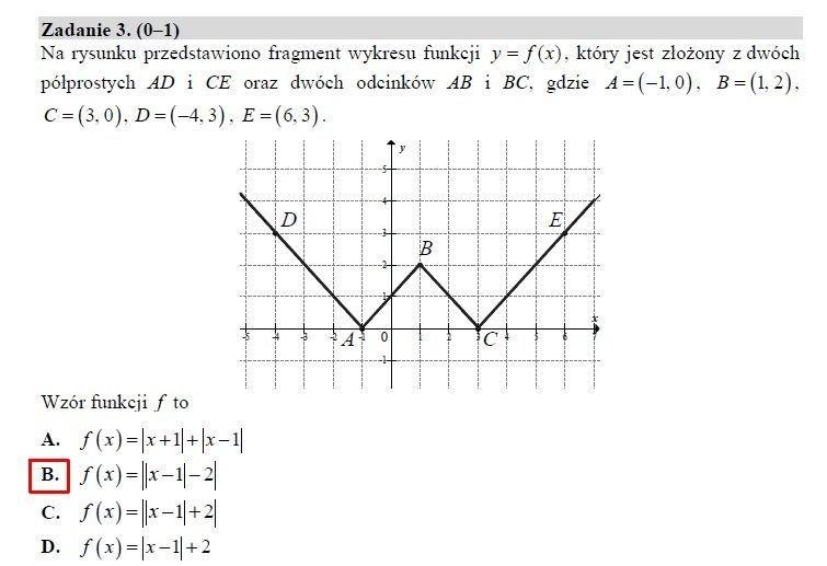 Matura 2019. Matematyka poziom rozszerzony - arkusz CKE, odpowiedzi. Matura z matematyki rozszerzonej 9.05.2019 [zadania, rozwiązania]
