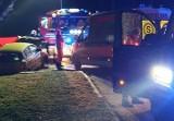 Tragiczny wypadek w Wieprzu pod Wadowicami. Nie żyje jedna osoba 12.01.