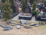 Nieznani sprawcy zdewastowali groby w Wejherowie [ZDJĘCIA]