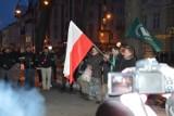 """Manifestacja ONR w Ełku. """"Ełk wolny od dżihadu"""" (zdjęcia, wideo)"""