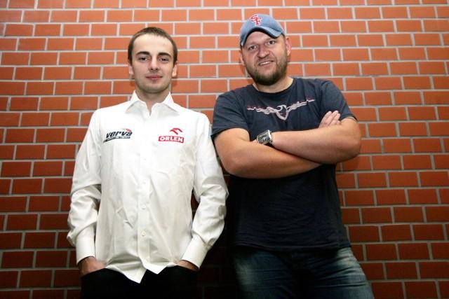 Jakub Giermaziak i jego menedżer, Damian Raciniewski, są optymistami przed nadchodzącym sezonem