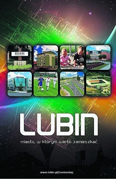 """Folder """"LUBIN miasto, w którym warto zamieszkać"""" dotrze do mieszkańców całego byłego województwa legnickiego"""