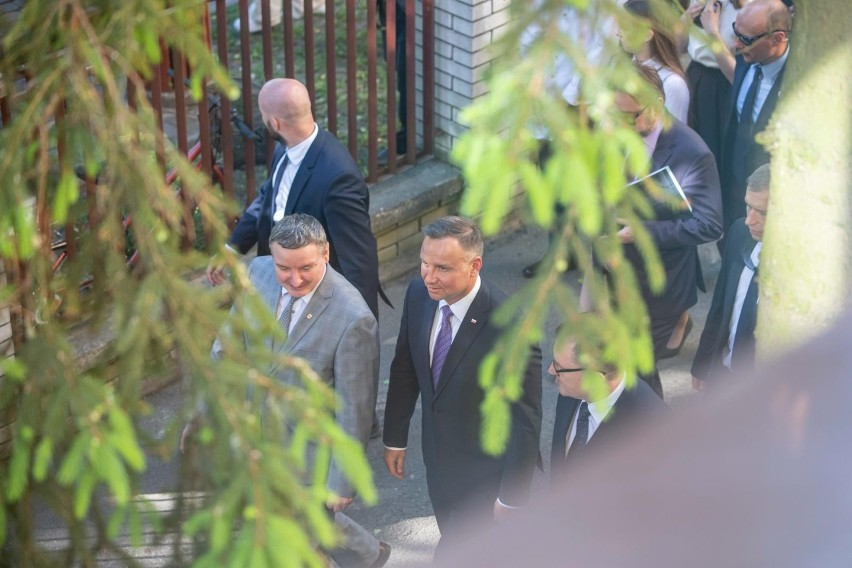 Bielsk Podlaski. Prezydent Andrzej Duda na Podlasiu. Spotkał się z przedstawicielami polskich Białorusinów [ZDJĘCIA]