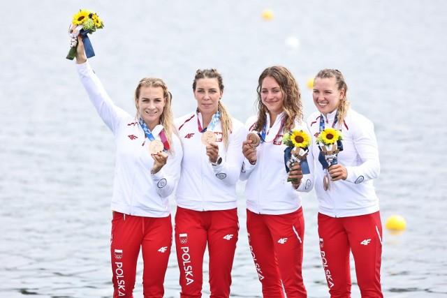 Polki zdobyły medale w konkurencjach K2 500 m i K4 500 m