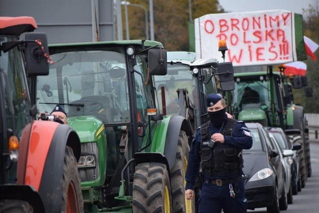 Jeden z poprzednich protestów rolniczych