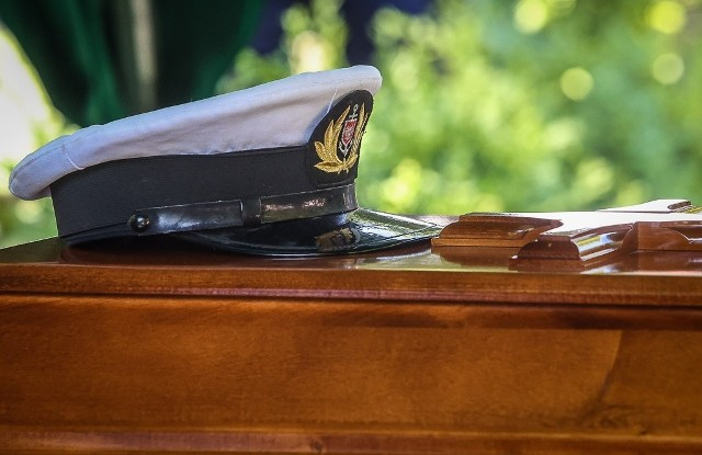 Pogrzeb kapitan Krystyny Chojnowskiej-Liskiewicz w Gdańsku