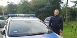 Policjant z Tczewa uratował 76-latka. Funkcjonariusz otrzymał podziękowania od syna poszkodowanego mężczyzny