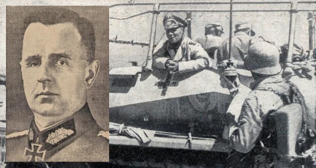 Generał Willibald Borowietz jako podkomendny marszałka Rommla dowodził jedną z dywizji pancernych Afrika Korps