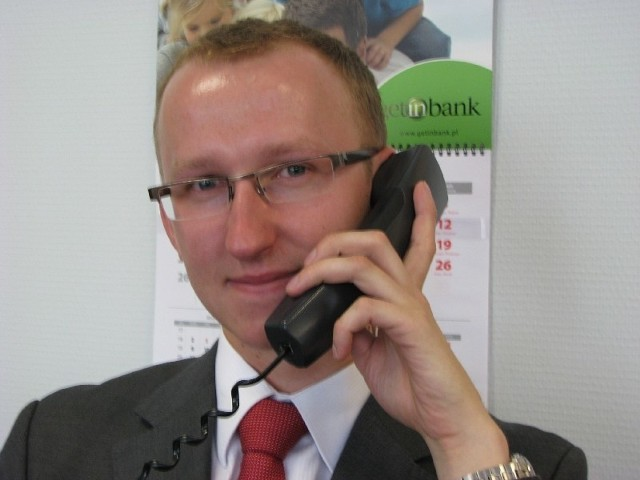 Tomasz MachowiakTomasz Machowiak, specjalista ds. kredytów hipotecznych w Centrum Kredytów Hipotecznych Getin Banku w Zielonej Górze.
