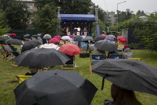 Koncert krakowskiej grupy jazzowej Boba Jazz Band zainaugurował działalność ArtSfery MNK przy dawnym hotelu Cracovia
