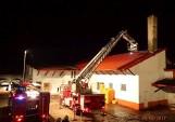 Pożar piekarni w Konopkach. Straty na pół miliona złotych (zdjęcia)