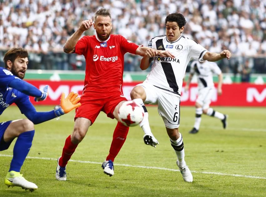 Legia bezbramkowo zremisowała u siebie z Lechią, zdobywając...