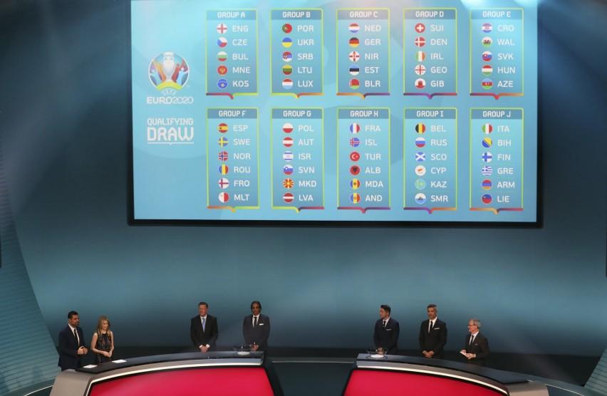 Eliminacje Euro 2020: Polska poznała rywali. W grupie G zagra z Austrią. A mogli być Niemcy