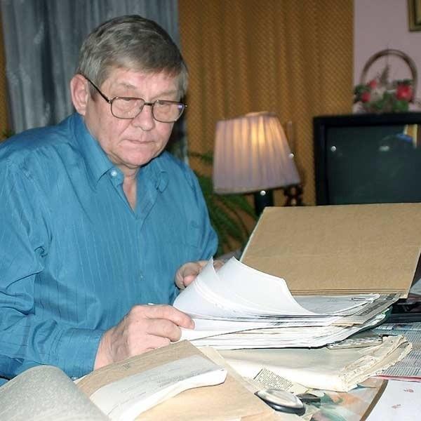 - Poświęciłem tej sprawie przeszło rok życia - mówi kpt. Jan Ragan, emerytowany milicjant.
