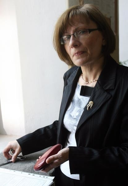 Maria Snakowska, dyr. Gimnazjum nr 2 w Rzeszowie: - Skandalem było insynuowanie CKE, że pytania z testu humanistycznego mogły wyciec m.in. od dyrektorów szkół.