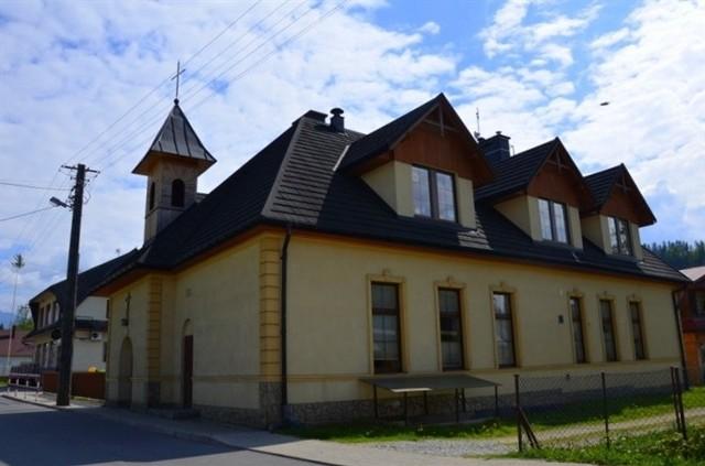 Budynek przedszkola w Jurgowie