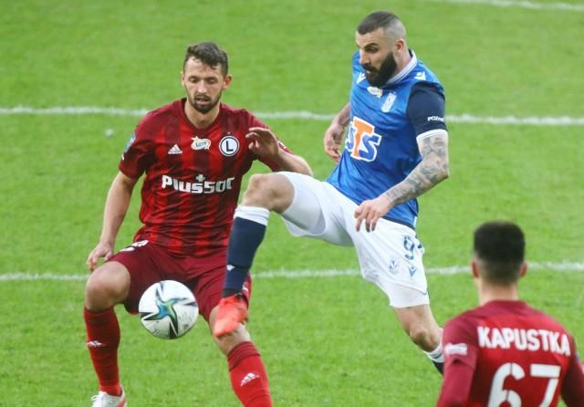 W poprzednim sezonie Legia wygrała z Lechem w Warszawie 2:1, a w Poznaniu był remis 0:0