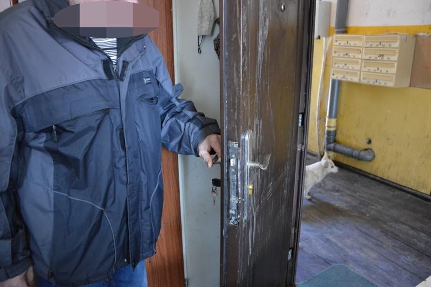 Matka trojga dzieci narzeka na sąsiadów w Lęborku przy ul....