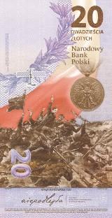 Mieszkańcy Małopolski tłumnie ruszyli do zakupu kolekcjonerskiego banknotu upamiętniającego rocznicę Bitwy Warszawskiej