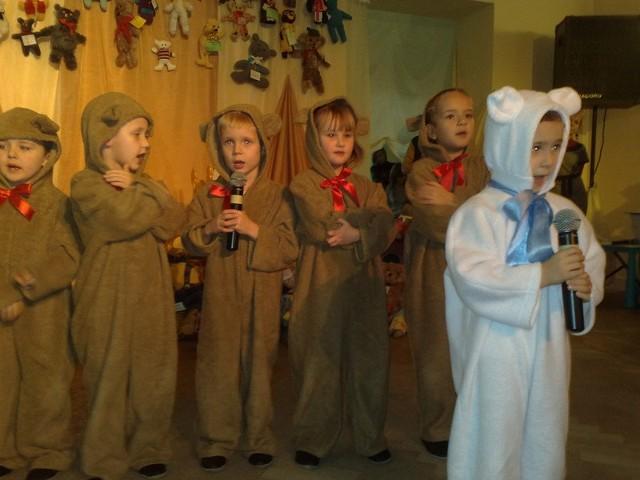 Przedszkolaki ze Szczecinka wspomogły w tym roku w czasie Święta Misia szczytną ideę.