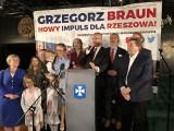 Grzegorz Braun: Ta kampania pokazuje, że jesteśmy w stanie przebijać szklany sufit [ZDJĘCIA]