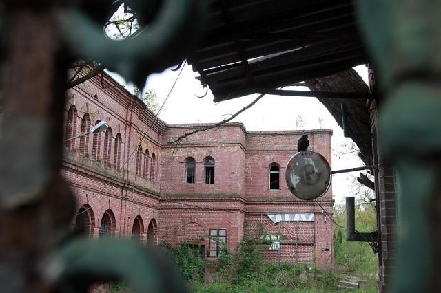 Ruiny zakłądów Uniontex.