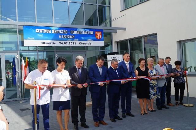 Zdjęcia z uroczystego otwarcie Centrum Medycznego w Brzeźnicy