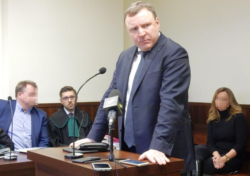 Jacek Kurski zeznaj przed opolskim sądem (13. 03. 2019).