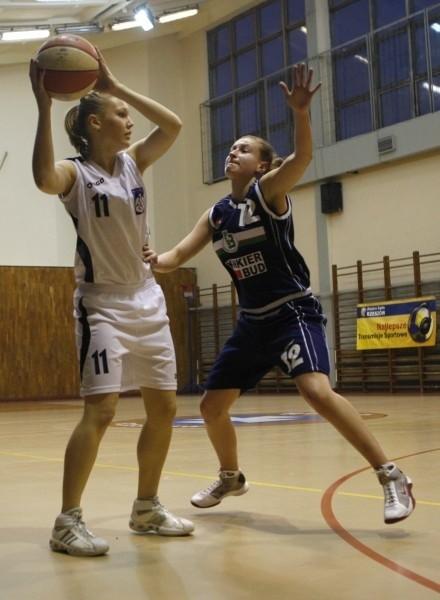 Katarzyna Marcinik dała dobra zmiane, ale w końcówce dopadł ją pech w postaci kontuzji.