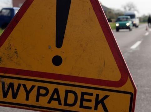 Wypadek drogowy koło Chociwla.