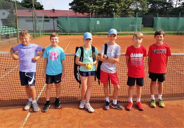 Najmłodsi tenisiści rywalizowali w Zielonej Górze w dwóch turniejach.