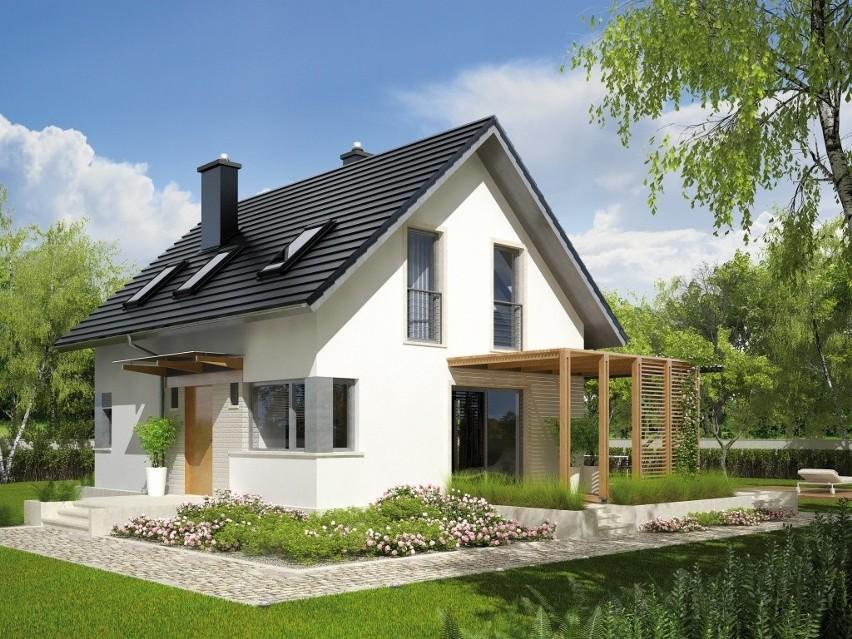 Przy ulicy Modrzewiowej w Oksie powstaje osiedle domków jednorodzinnych.