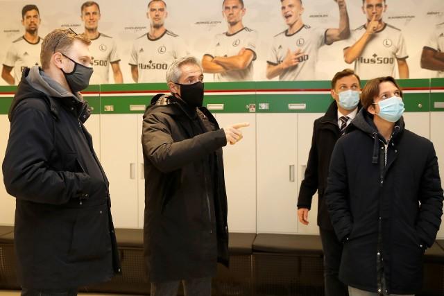 Paulo Sousa odwiedził stadion Legii. Tutaj Polska zagra w eliminacjach mundialu