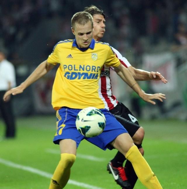 Julien Tadrowski obecnie występuje w Górniku Łęczna
