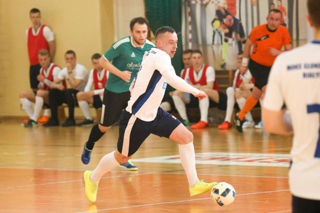 Bialystok 22.04.2017 futsal moks bialystok - azs uw warszawa fot. anatol chomicz / polska press / gazeta wspolczesna / kurier poranny