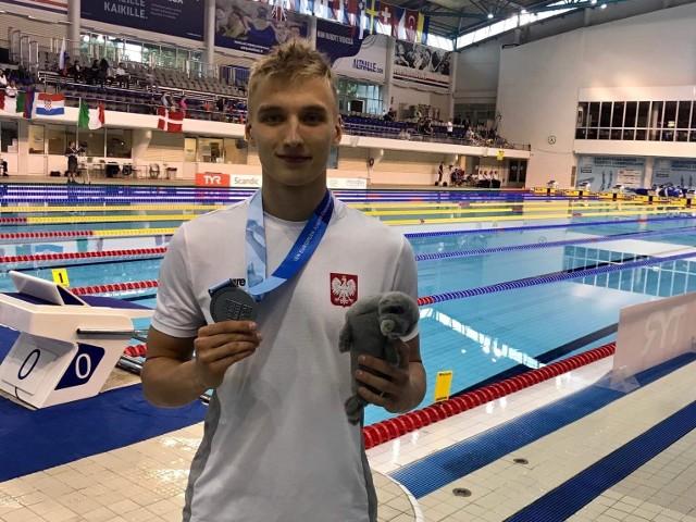 Jan Kałusowski - wicemistrz Europy z Trójki Łódź