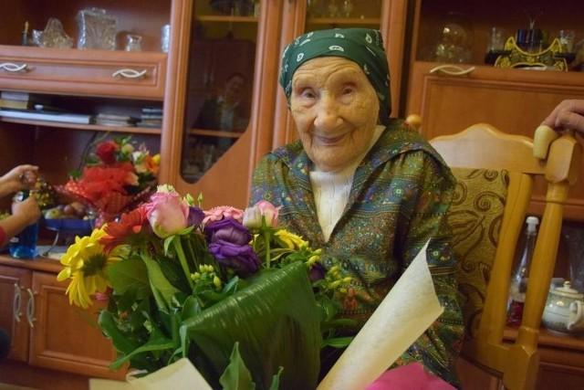 Pani Aleksandra Kliszcz w październiku skończyłaby 104 lata.