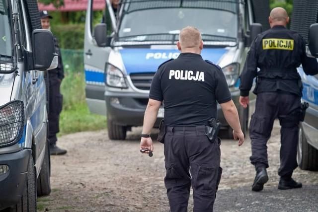 Szewce pod Wrocławiem. Trwają poszukiwania małego chłopca w wieku około 3 lat