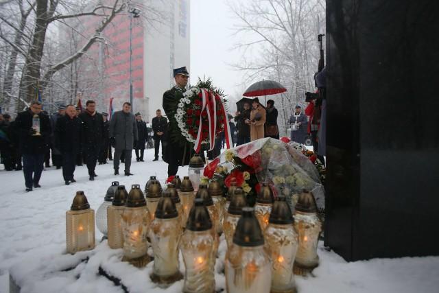 13. rocznica zawalenia się hali MTK w Katowicach