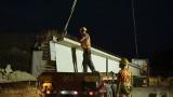 W nocy przez Poznań przejechały konwoje 30-tonowych belek. Są to części nowego wiaduktu na Naramowicach