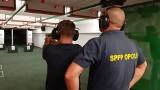 Opolscy dziennikarze rywalizowali na policyjnej strzelnicy