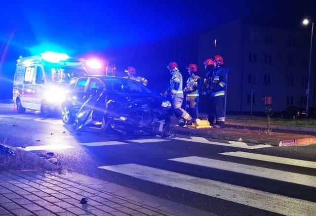 Wypadek w Koszalinie