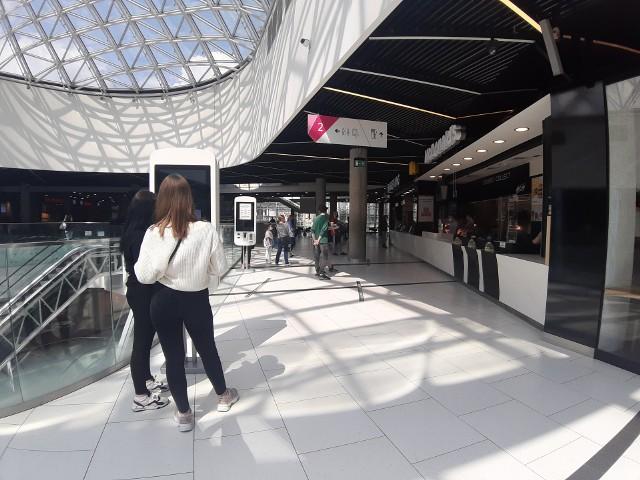Food court w Galerii Katowickiej