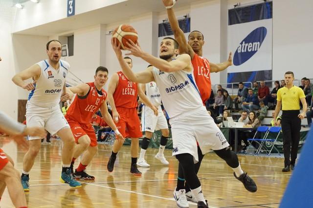 Piotr Wieloch zdobył 18 punktów i był najskuteczniejszym graczem Biofarmu w meczu z Astorią w Bydgoszczy