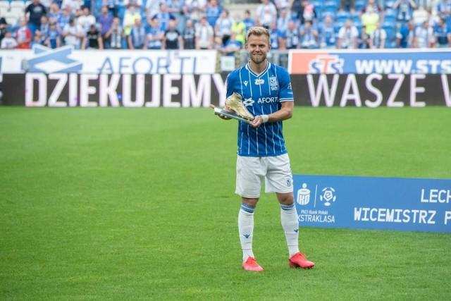 Czy Christian Gytkjaer we Włoszech postara się o takie same trofeum jak w Polsce?