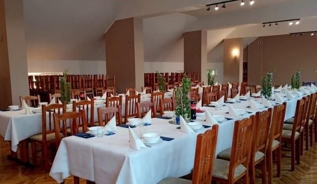 W świetlicy wiejskiej w Jastrzębi wyremontowano między innymi salę weselną.